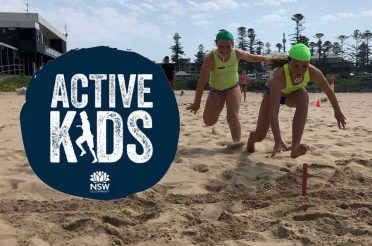 We accept Active Kids Vouchers