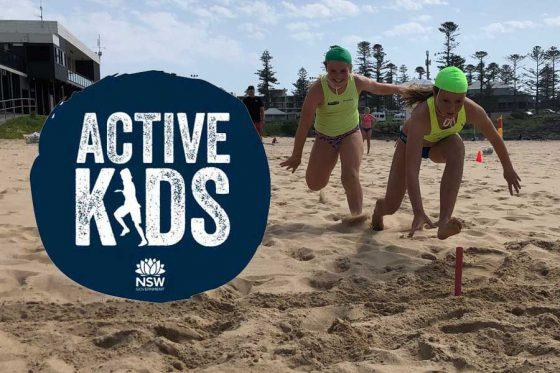 We accept Active Kids Vouchers