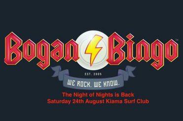 Bogan Bingo is Back!