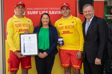 Kiama Lifesavers win at National Rescue of the Month Awards