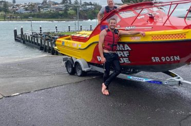 SR50 undertakes rescue off Kiama Harbour