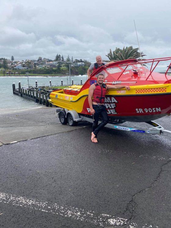 SR50 undertakes rescue off Kiama Harbour