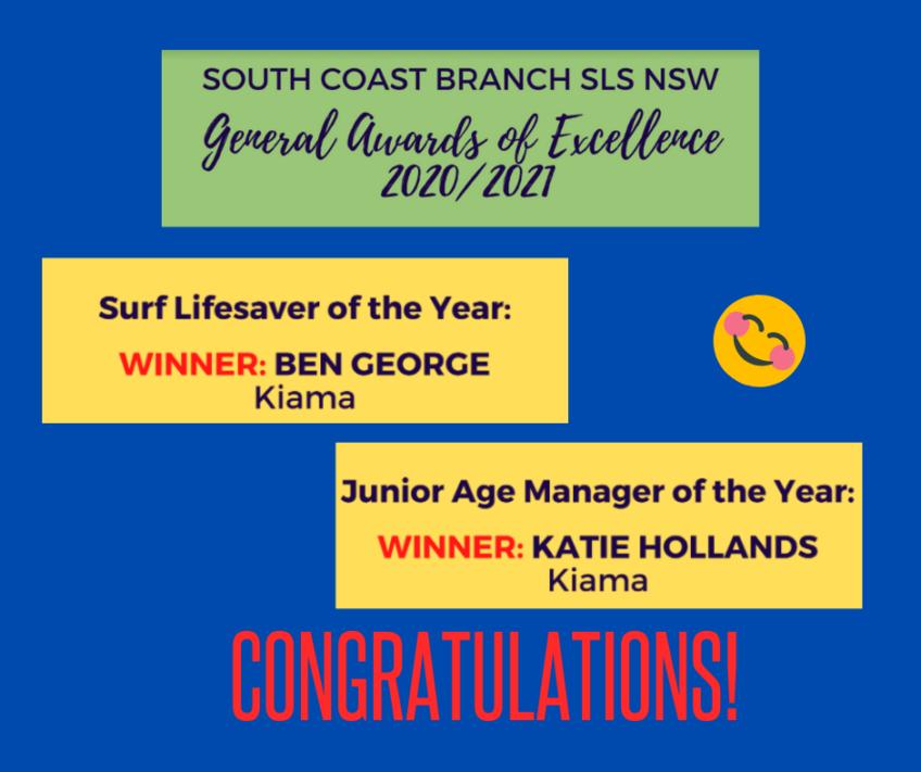 South Coast Branch Awards